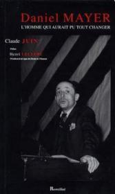 Daniel mayer - Couverture - Format classique