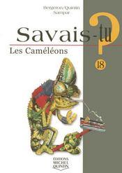 SAVAIS-TU ? T.18 ; les caméléons - Intérieur - Format classique