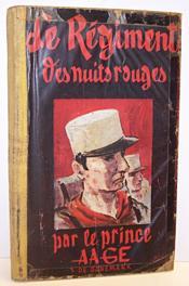 Le Régiment des nuits rouges - S.A. Le Prince Aage de Danemark - Couverture - Format classique