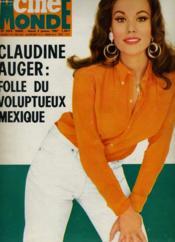 CINEMONDE - N° 1674 - CLAUDINE AUGER: folle du voluptueux Mexique - Couverture - Format classique