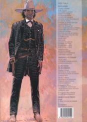 Blueberry T.1 ; fort navajo - 4ème de couverture - Format classique