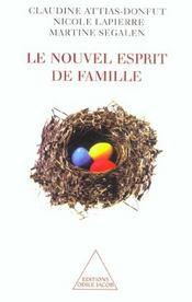Le nouvel esprit de famille - Intérieur - Format classique