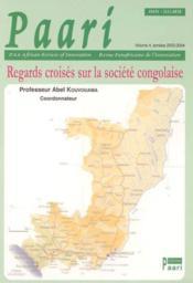 Regards croises sur la societe congolaise - Couverture - Format classique