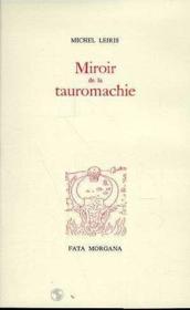 Miroir de la tauromachie - Couverture - Format classique
