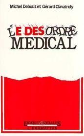 Desordre Medical - Couverture - Format classique