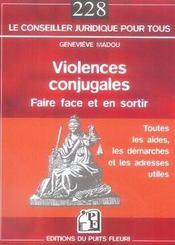 Violences conjugales : faire face et en sortir - Intérieur - Format classique