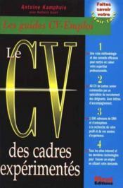 Le Cv Des Cadres Expérimentés - Couverture - Format classique