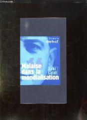 Malaise Dans La Mondialisation. Entretien Avec Philippe Petit - Couverture - Format classique