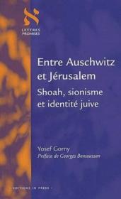 Entre Auschwitz et Jérusalem ; shoah, sionisme et identité juive - Couverture - Format classique