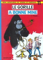 Les aventures de Spirou et Fantasio T.11 ; le gorille a bonne mine - Intérieur - Format classique