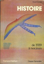 Histoire, classes terminales - Couverture - Format classique