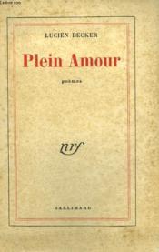 Plein Amour. - Couverture - Format classique