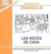 Les Noces De Cana Sce117 - Couverture - Format classique