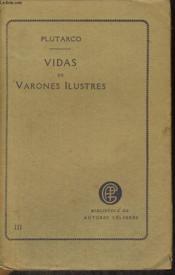 Avidas De Varonnes Ilustres, Tomo Tercero - Couverture - Format classique