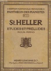 Etudes Et Preludes Pour Piano - Op.16 - N°878 : 24 Etudes : L'Art De Phraser - 1° Livre : N° 1 A 12. - Couverture - Format classique