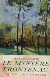 Le mystère Frontenac. - Couverture - Format classique