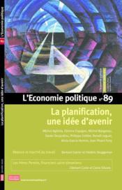 L'ECONOMIE POLITIQUE N.89 ; la planification, une idée d'avenir - Couverture - Format classique