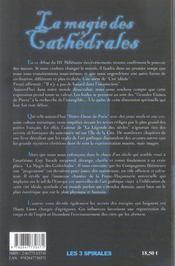Magie Des Cathedrales - 4ème de couverture - Format classique