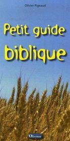 Petit guide biblique - Couverture - Format classique