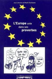L'europe unie dans ses proverbes - Couverture - Format classique