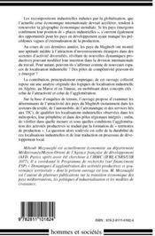 Les localisations industrielles au Maghreb ; attractivité, agglomération et territoires - 4ème de couverture - Format classique