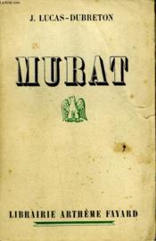 Murat. - Couverture - Format classique