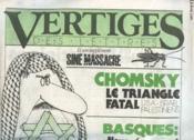 Vertiges Des Lettres N°3 Et Son Supplement Sine Massacre - Chomsky Le Triangle Fatal - Couverture - Format classique
