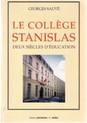 Le College Stanislas - Couverture - Format classique