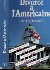 Divorce A L'Americaine - Couverture - Format classique