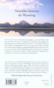 Nouvelles histoires du wyoming - Couverture - Format classique