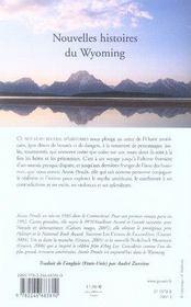Nouvelles histoires du wyoming - 4ème de couverture - Format classique
