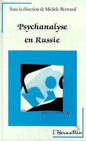 Psychanalyse En Russie - Intérieur - Format classique