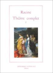 Theatre complet tome i (broche) - Couverture - Format classique