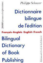 Dictionnaire Bilingue - Couverture - Format classique