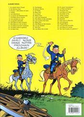 Les tuniques bleues t.39 ; puppet blues - 4ème de couverture - Format classique