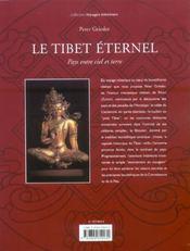 Le Tibet Eternel ; Pays Entre Ciel Et Terre - 4ème de couverture - Format classique