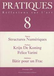 Pratiques 8 - Intérieur - Format classique