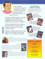 Dossier Michel Vaillant T.5 ; Coluche... C'Est L'Exploit D'Un Mec - 4ème de couverture - Format classique