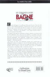 Le grand livre du bagne - 4ème de couverture - Format classique