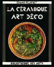 Ceramique Art Deco - Couverture - Format classique