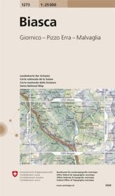 Biasca ; giornico, Pizzo Erra, Malvaglia - Couverture - Format classique