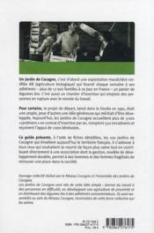 Guide des jardins de Cocagne. cultivons la solidarité ! - 4ème de couverture - Format classique