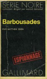 Collection : Serie Noire N° 1491 Barbousades - Couverture - Format classique