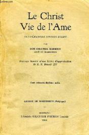 Le Christ Vie De L'Ame - Couverture - Format classique