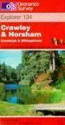Crawley Et Horsham 1/25 000 - Couverture - Format classique