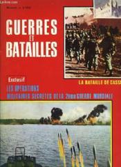 Guerres Et Batailles - N°5 - Les Operations Militaires Secretes De La 2° Guerre Mondiale - Couverture - Format classique