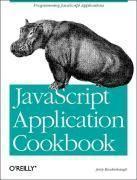 Javascript Application Coobook - Couverture - Format classique