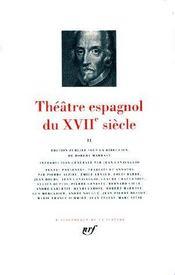 Théâtre espagnol du XVIIe siècle - Intérieur - Format classique