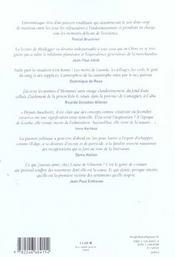 Revue La Regle Du Jeu N.27 - 4ème de couverture - Format classique