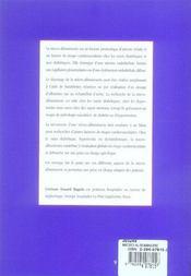 La micro-albuminurie - 4ème de couverture - Format classique